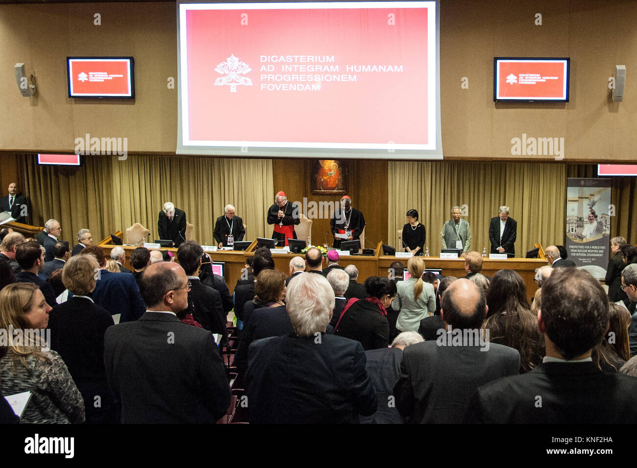 International Symposium: Prospects for a World Free from Nuclear Weapons and for Integral Disarmament, at the New Stock Photo
