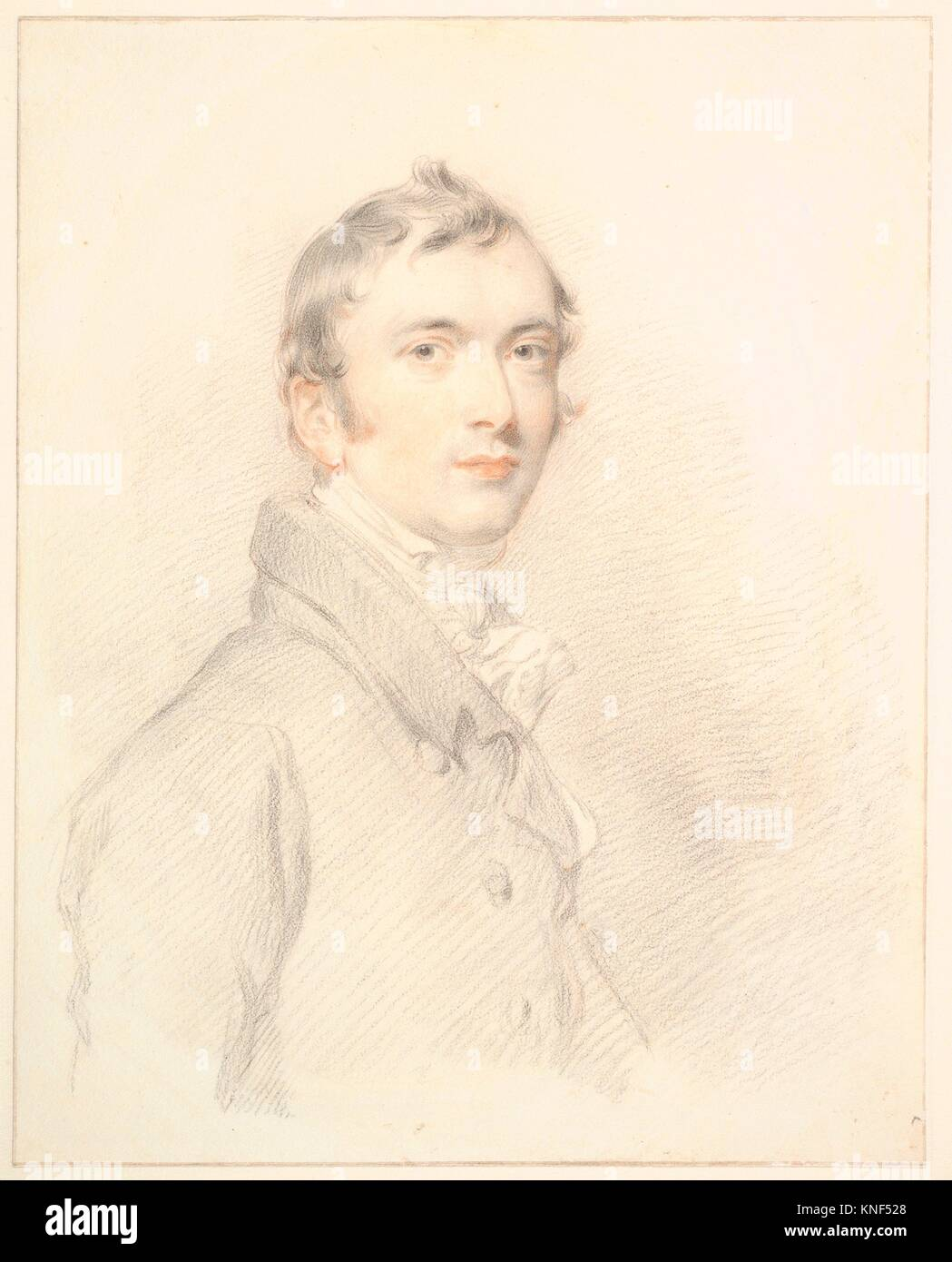 Benjamin Rouse, Junior. Artist: Sir Thomas Lawrence (British, Bristol 1769-1830 London); Sitter: Benjamin Rouse - Stock Image