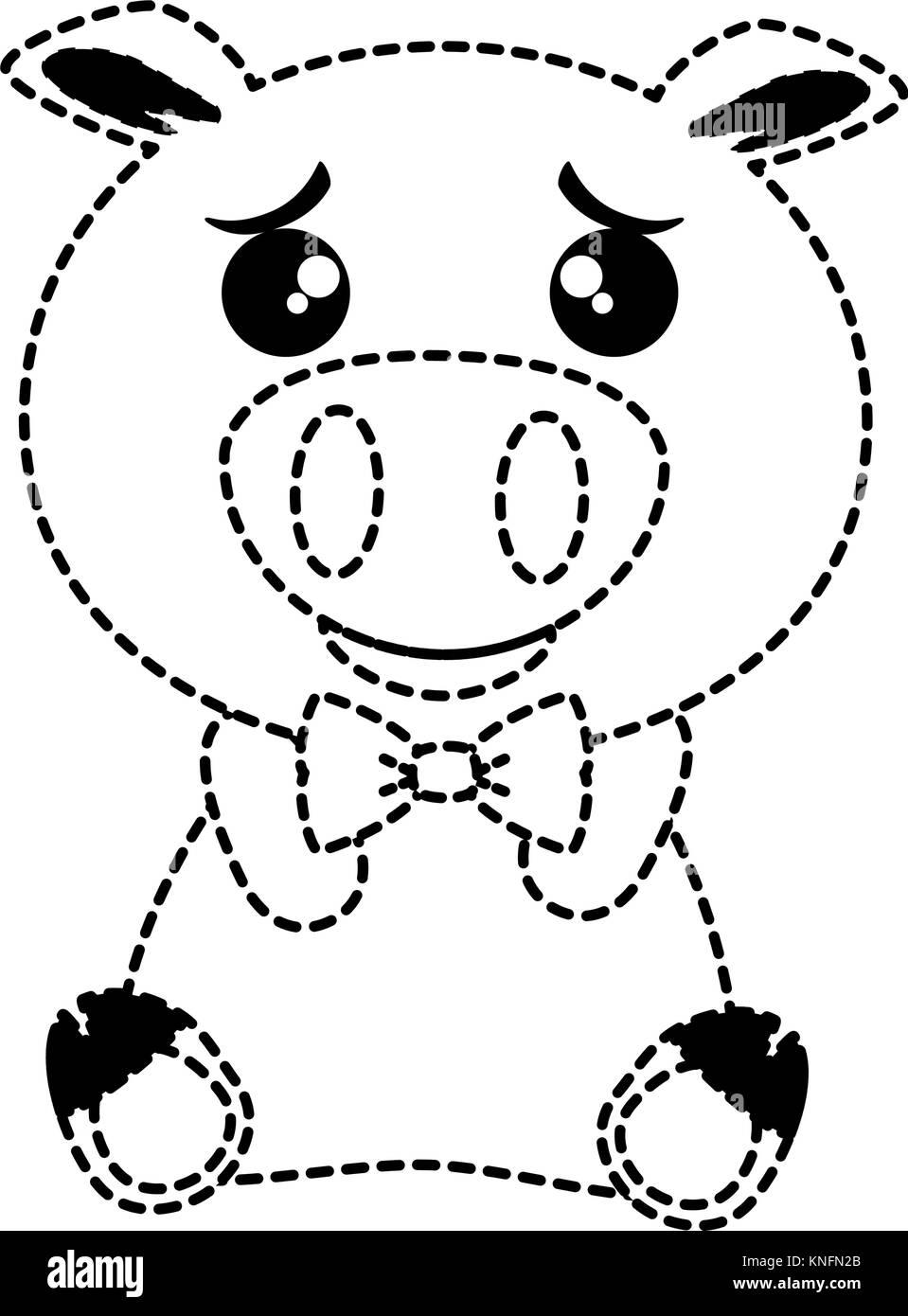 emoji vector vectors cut out stock images pictures alamy New Black Emoji Girl cute pig emoji kawaii vector illustration design stock image