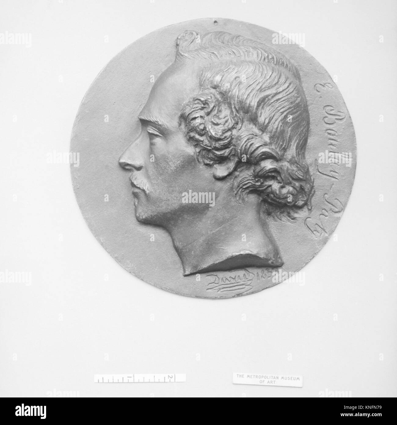 Evariste Boulay-Paty (1804 1864), French poet MET 31557 188469 Artist: Pierre Jean David d'Angers, French, Angers Stock Photo