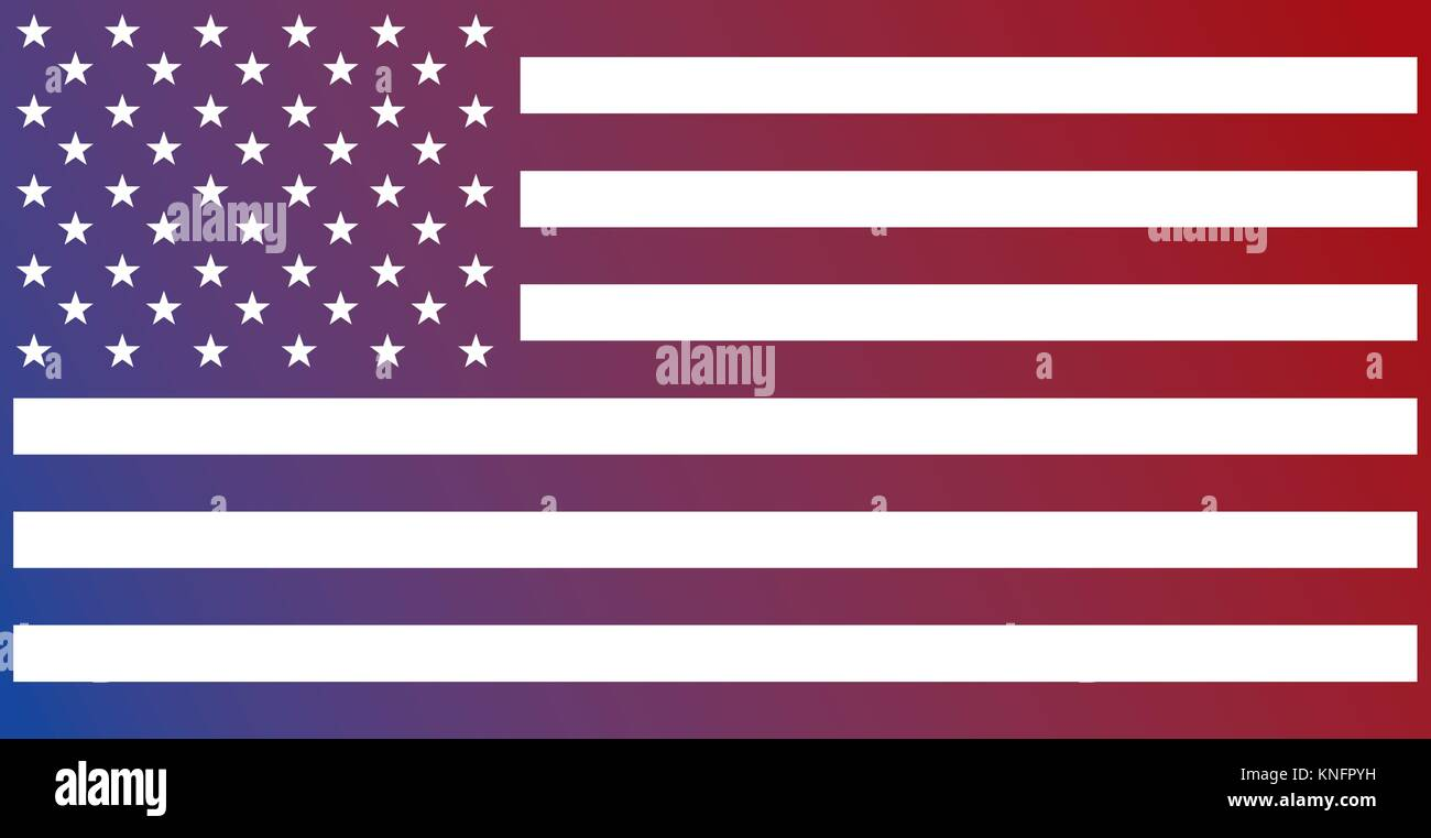 united states of america flag national insignia patrotism - Stock Vector