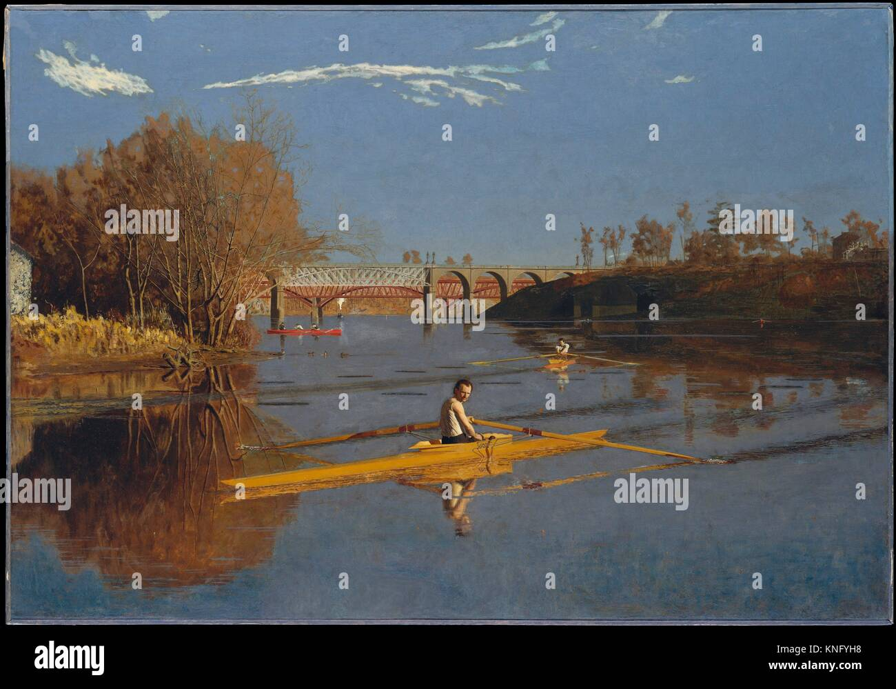 Max Schmitt In A Single Scull Paint Artist