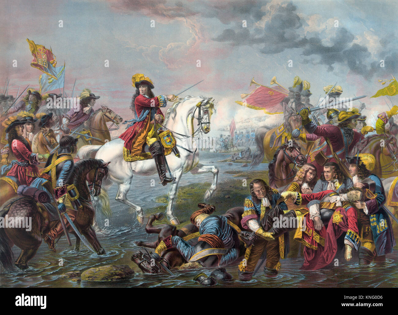 Battle of the Boyne, which took place in 1690 near Drogheda, Ireland. The