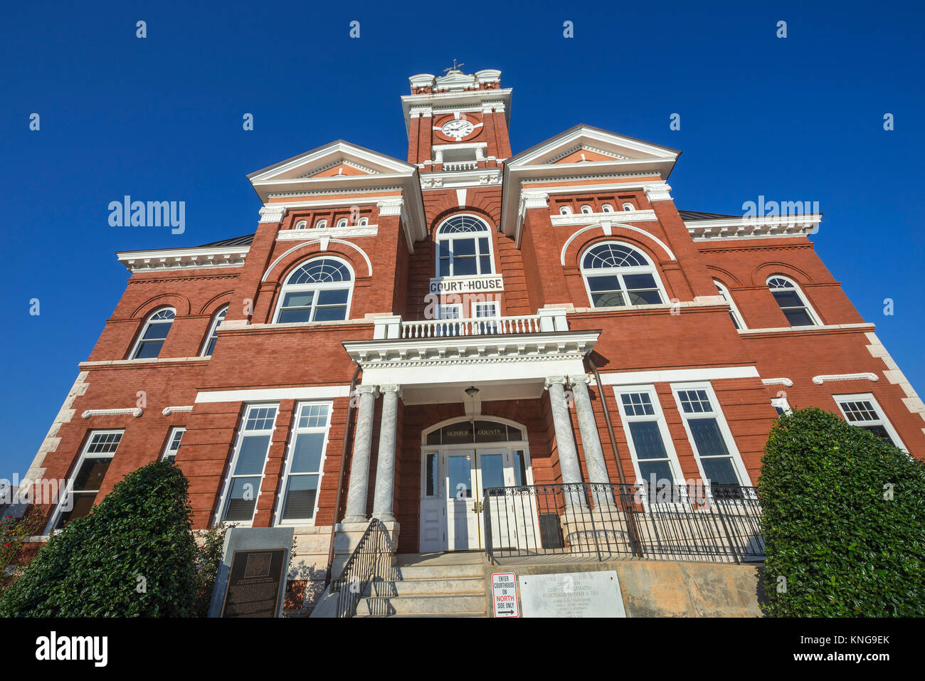 Monroe County Courthouse in Forsyth, Georgia, was built in 1896 and