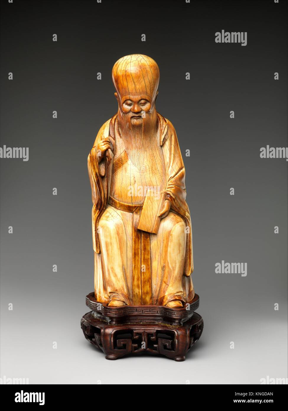 Shouxing, Stellar God of Immortality. Period: Ming dynasty (1368-1644); Date: 16th century; Culture: China; Medium: - Stock Image