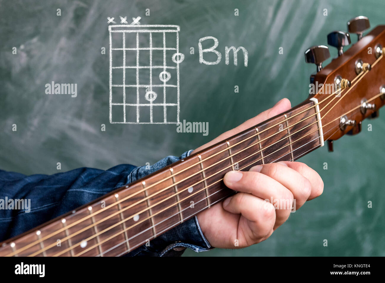 Chords On Guitar Stock Photos Chords On Guitar Stock Images Alamy