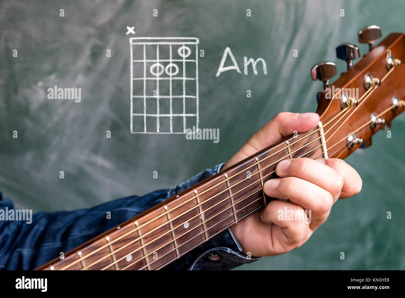 Teacher Playing Guitar Stock Photos Teacher Playing Guitar Stock