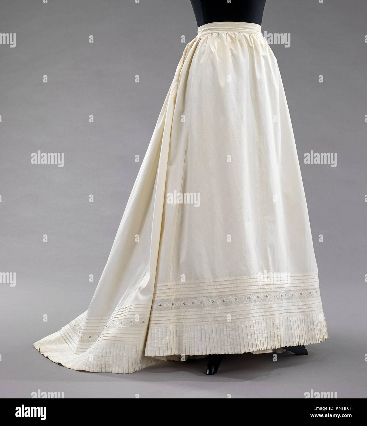 Date 1890; Culture American; Medium cotton; Credit Line Brooklyn Museum Costume Collection at The Metropolitan Museum of Art Gift of & Petticoat. Date: 1890; Culture: American; Medium: cotton; Credit ...
