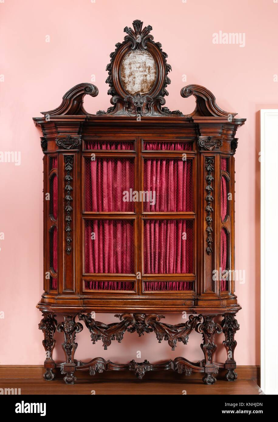 Bookcase One Of A Pair Designer Design Attributed To The Architect Niccolo
