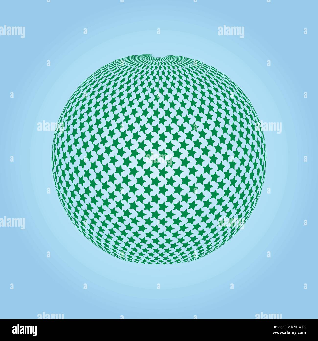 Vector spheres. Abstract technical illustration. 3 D object - Stock Vector