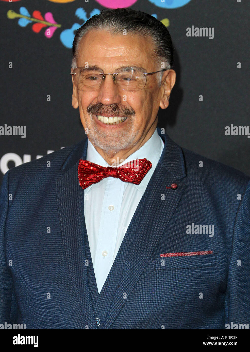 """""""COCO"""" Premiere held at the El Capitan Theatre in Hollywood, California.  Featuring: Alfonso Arau Where: Los Angeles, - Stock Image"""