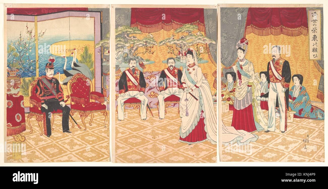 御ä¸-の栄東の粧/Imperial Prosperity: - Stock Image