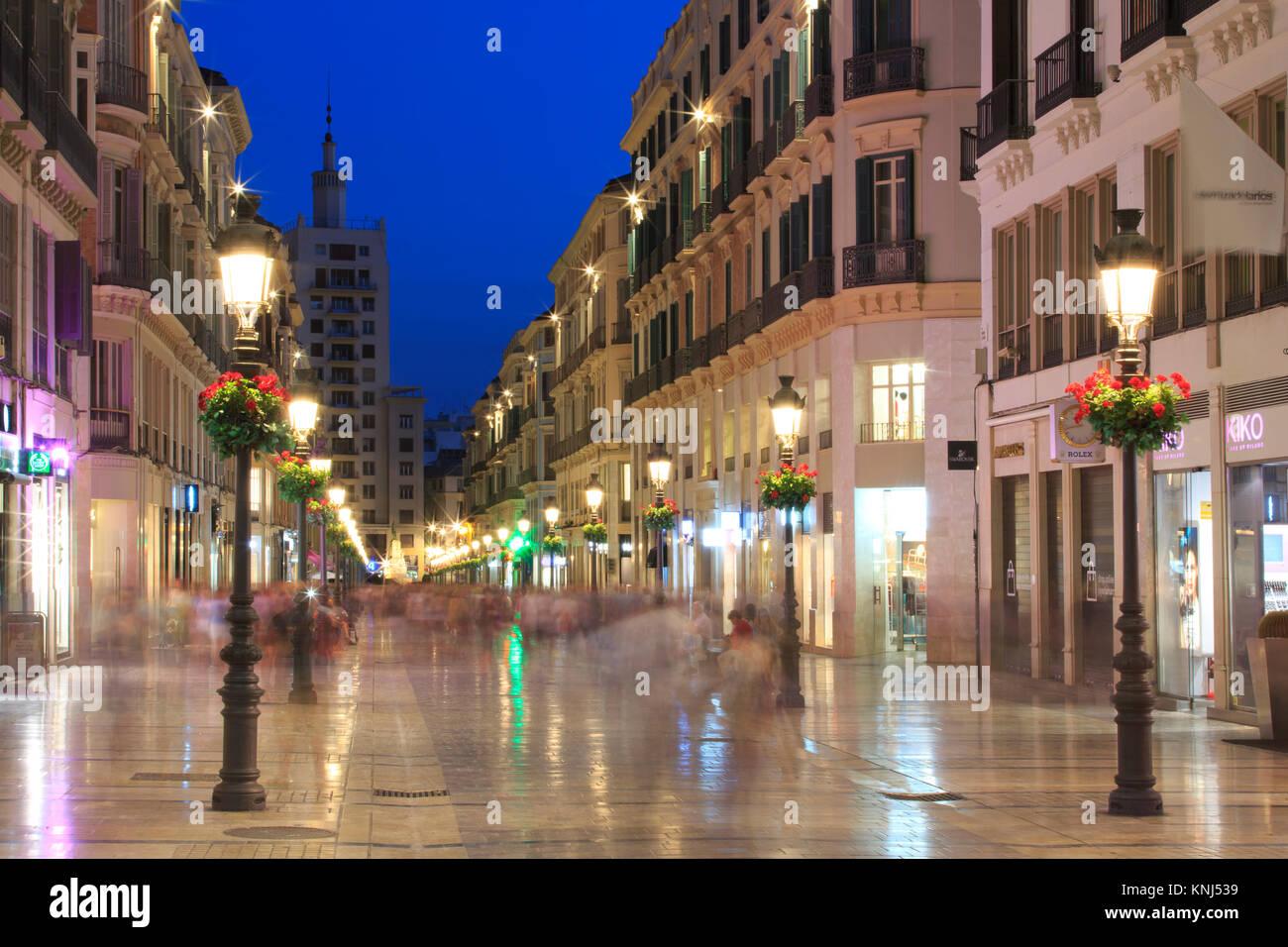 Calle larios stock photos calle larios stock images alamy for Calle palma del rio malaga
