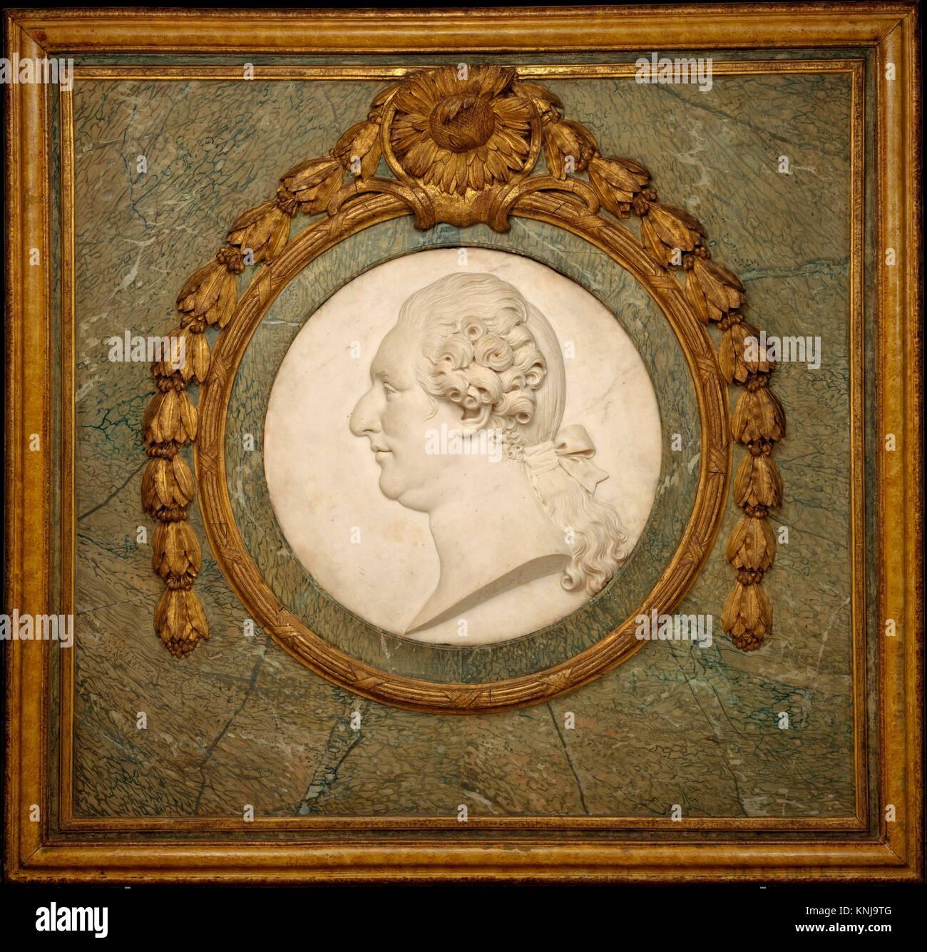 Louis XVI. Artist: Philippe Laurent Roland (French, Pont-à-Marc 1746-1816 Paris); Date: 1787; Culture: French, - Stock Image