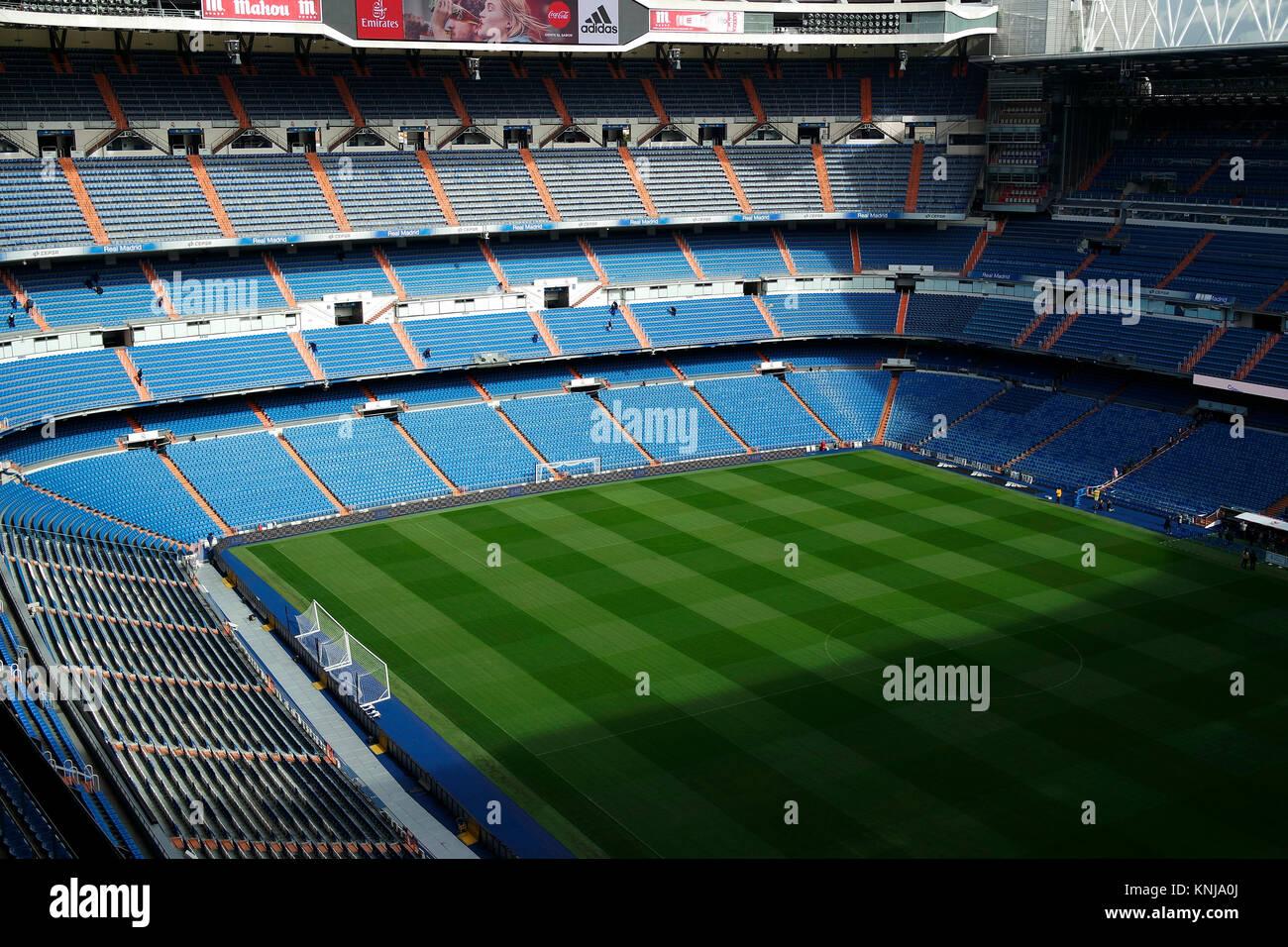 relajado Ligero Es una suerte que  Santiago Bernabeu Stadion, Real Madrid, Madrid Stock Photo - Alamy