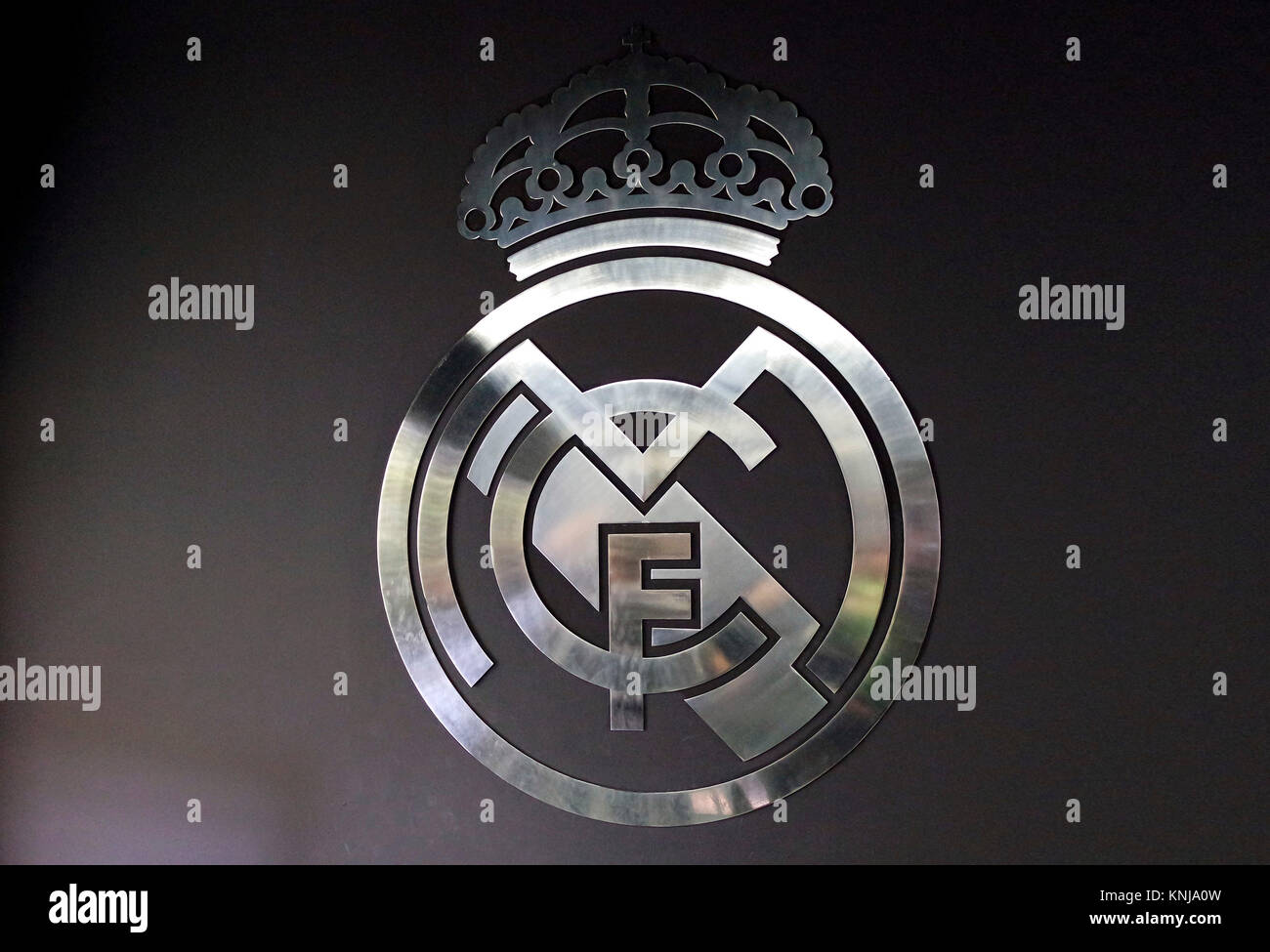 Real Madrid Logo Stock Photos Real Madrid Logo Stock Images Alamy
