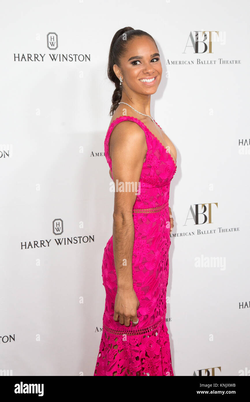 Beverly Hills, Califronia, USA. 11th Dec, 2017. Misty Copeland attending the American Ballet Theatre Annual Holiday - Stock Image