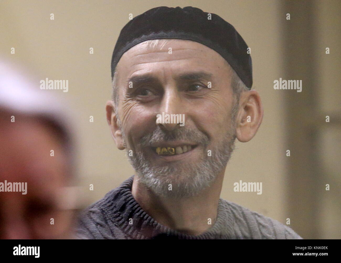 Rostov On Don, Russia. 13th Dec, 2017. Ramzan Belyalov, charged with taking part in a June 1995 attack by armed - Stock Image