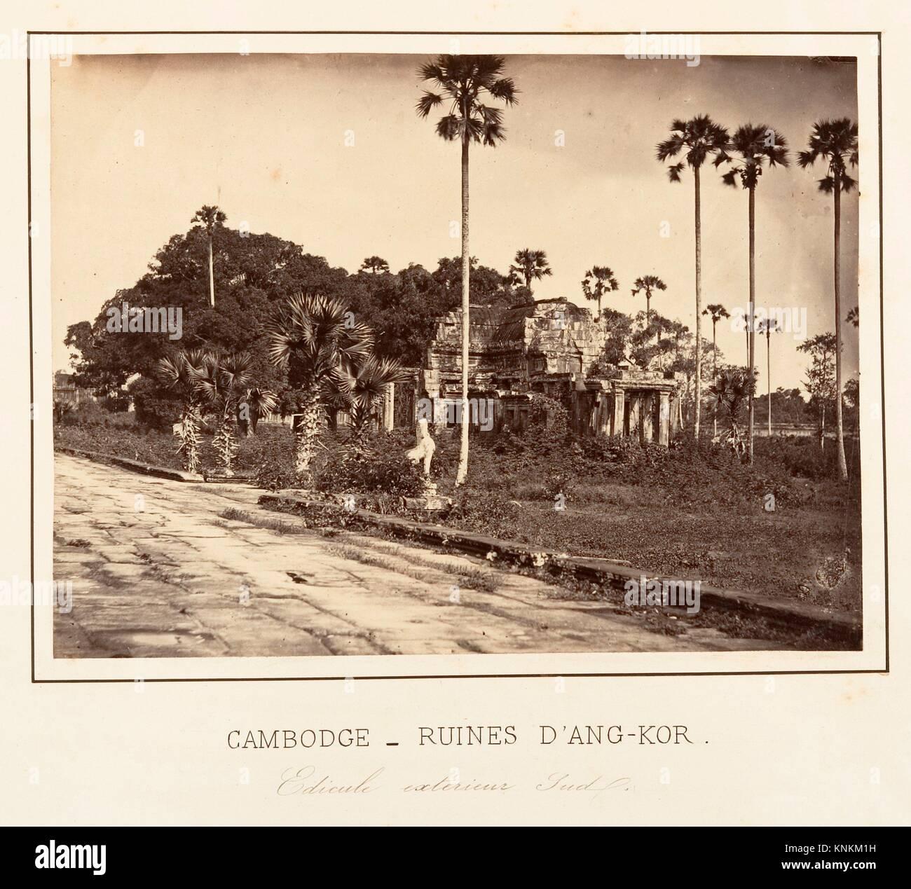 Edicule extérieur Sud. Artist: Emile Gsell (French, Sainte-Marie-aux-Mines 1838-1879 Vietnam); Date: 1866; - Stock Image