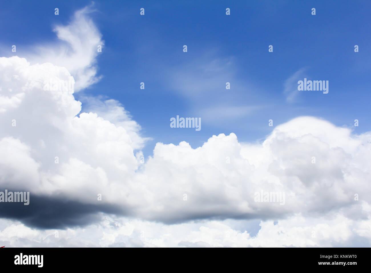 clound on sky - Stock Image