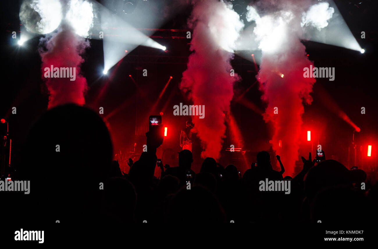 Every event is important for lights and effects. - Stock Image