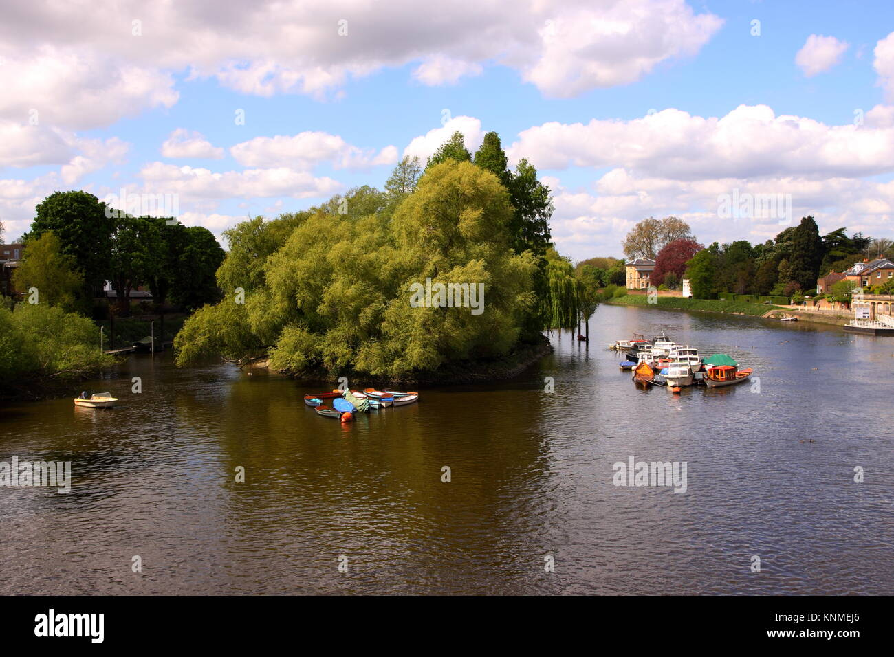 River Thames in Richmond, London - Stock Image