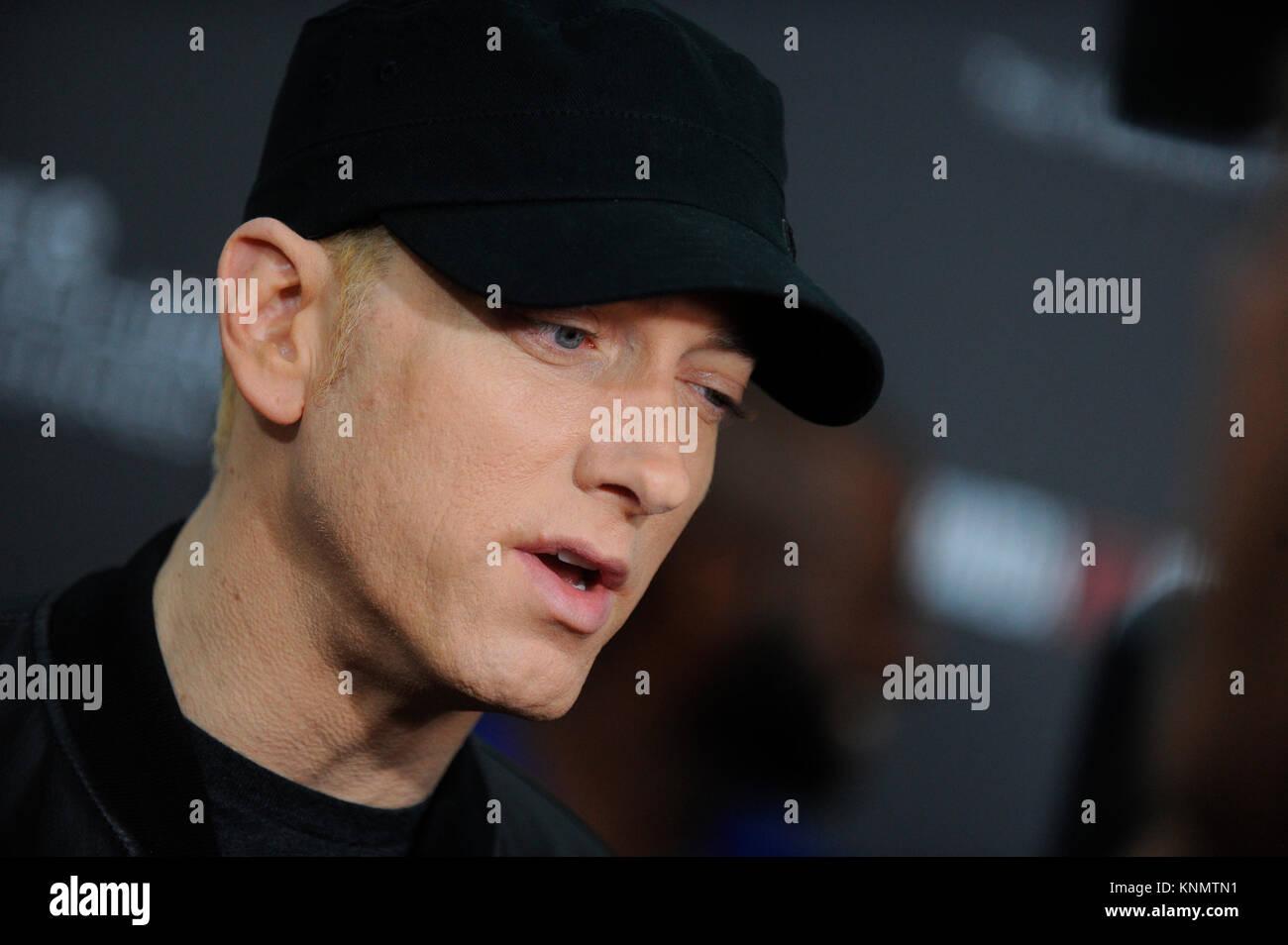 dfaba54d426ae NEW YORK, NY - JULY 20: Eminem attends the 'Southpaw' New York