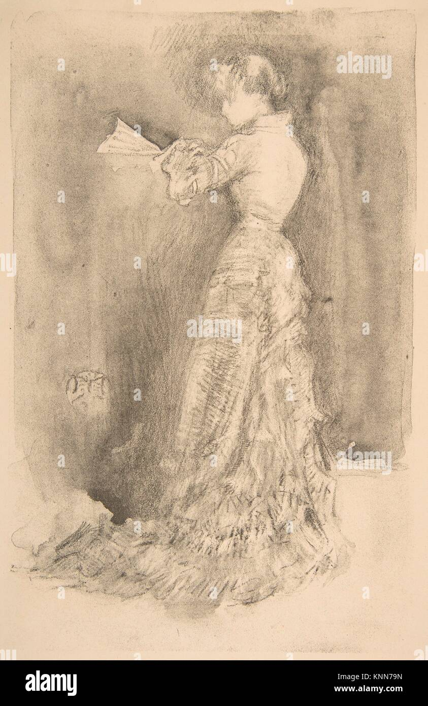 The Toilet. Artist: James McNeill Whistler (American, Lowell, Massachusetts 1834-1903 London); Date: 1878; Medium: - Stock Image