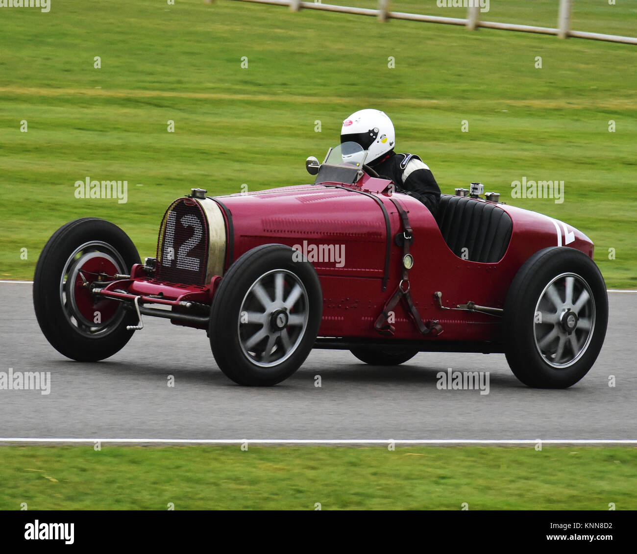 Charles Knill Jones, Bugatti Type 51, Earl Howe Trophy, Goodwood 73rd MM March 2015, 73rd, 73rd Members Meeting, - Stock Image
