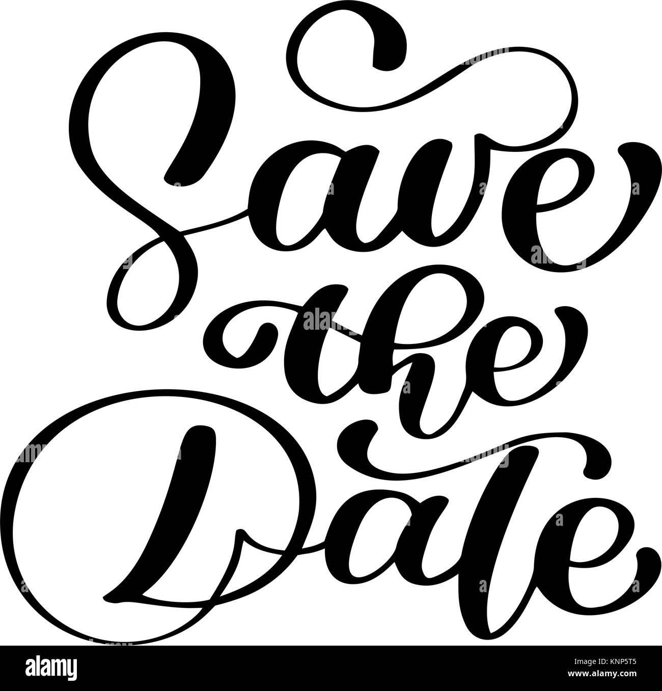 save the date text calligraphy vector lettering for wedding or love rh alamy com calligraphy vector png calligraphy vector frame