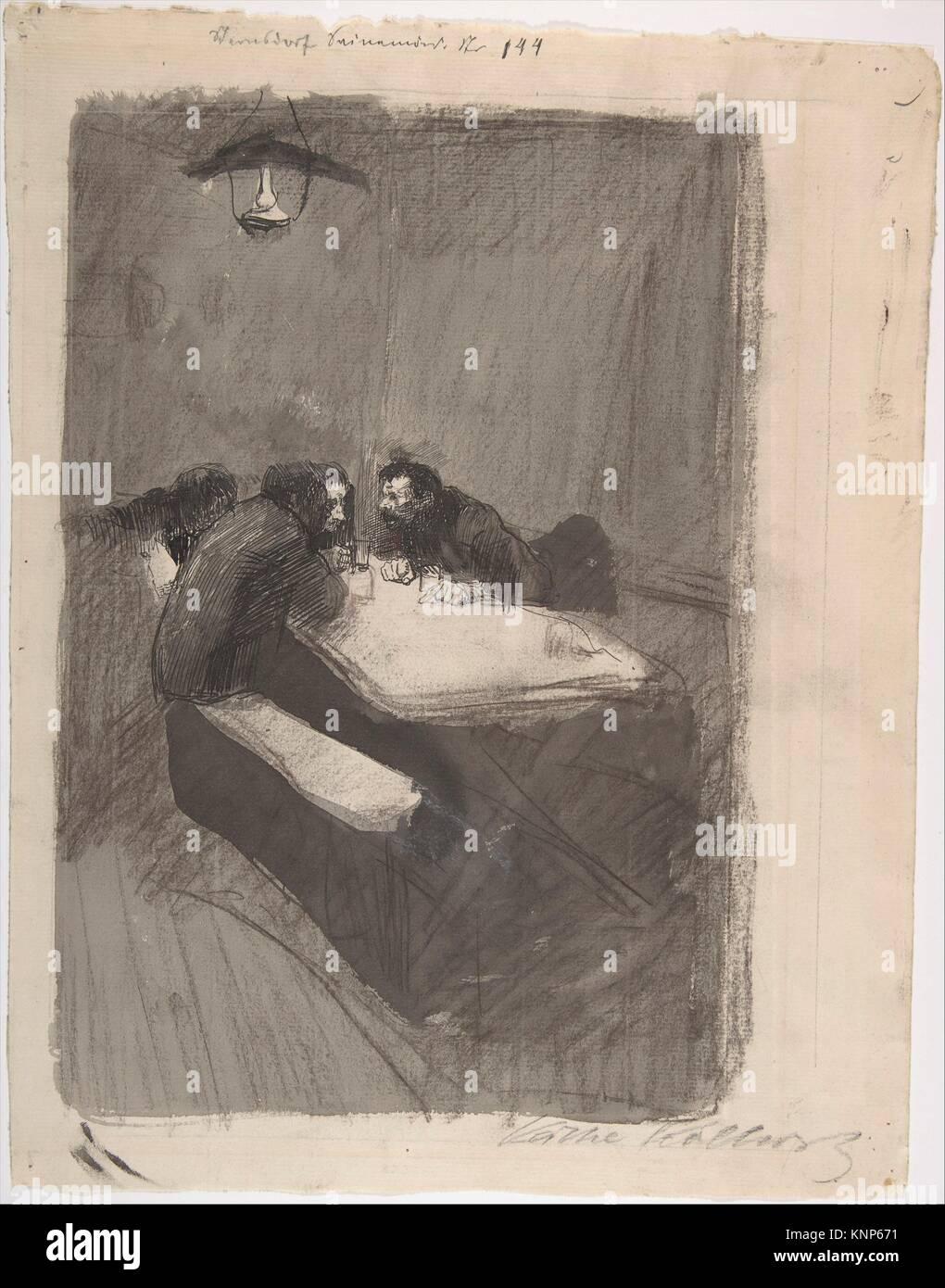 The Weavers. Artist: Käthe Kollwitz (German, Kaliningrad (Königsberg) 1867-1945 Moritzburg); Date: late - Stock Image