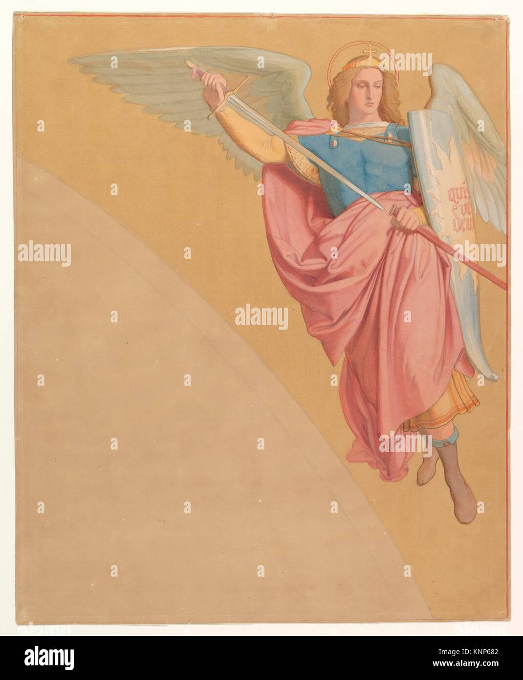 Archangel Drawing Stock Photos Archangel Drawing Stock Images Alamy
