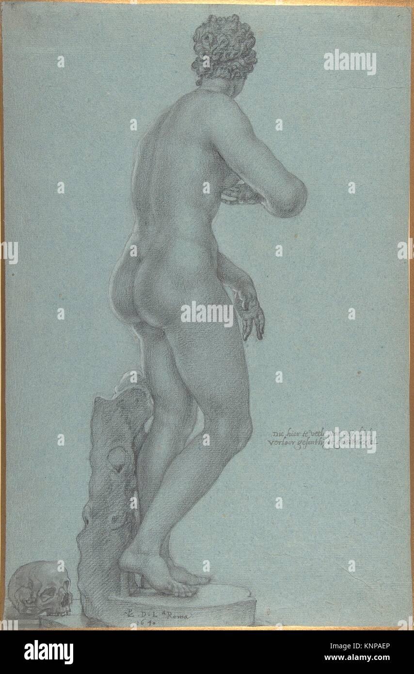 Venus de' Medici; view from the back. Artist: Peter van Lint, Flemish (Antwerp 1609-1690 Antwerp); Date: 1640; - Stock Image