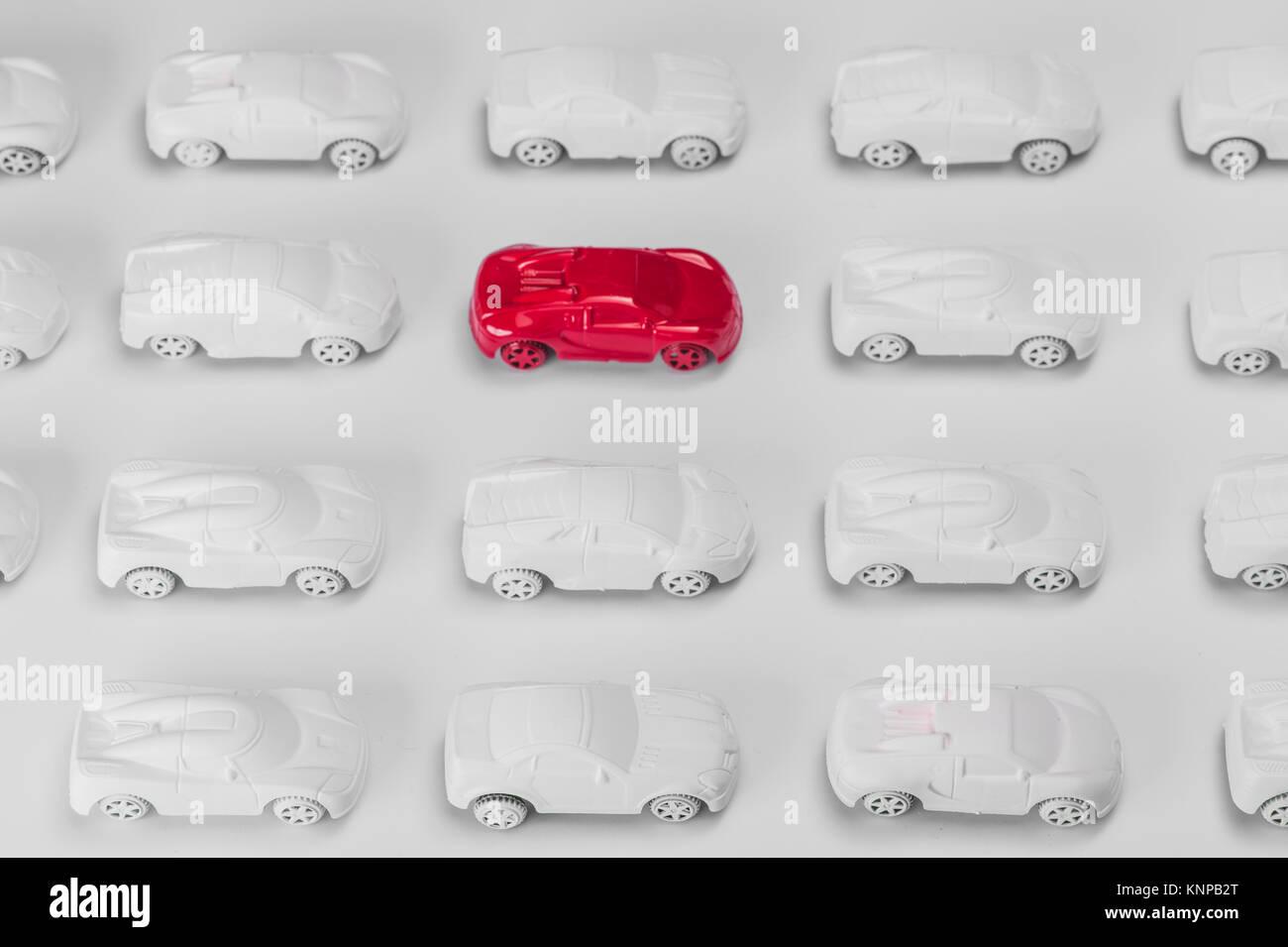 Concept car, Concept traffic - Stock Image