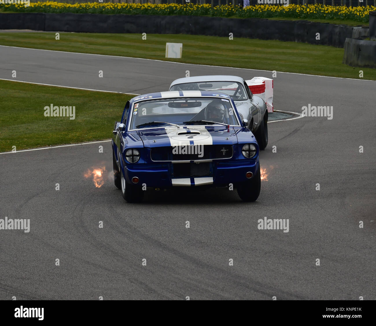 Rupert Clevely, Ford Mustang GT350, Spits Exhaust Flames From Both Sides,  Graham Hill