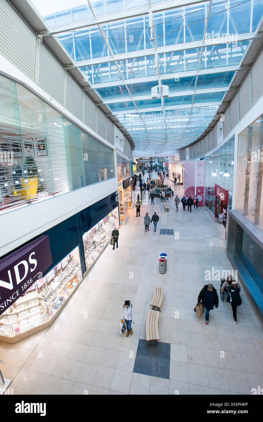 Festival Place Shopping Centre, Basingstoke, UK - Stock Image