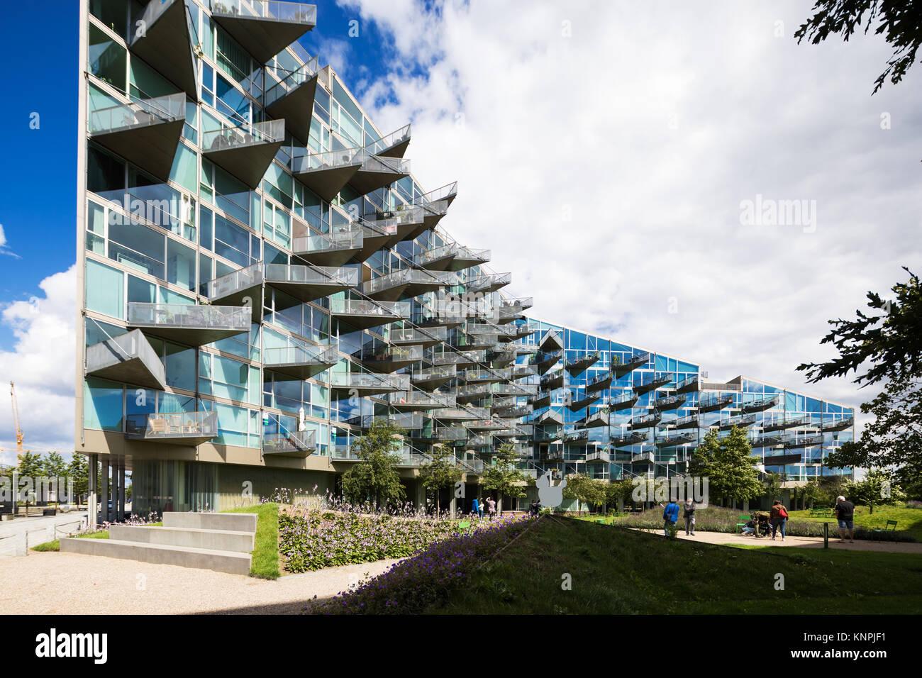 Modern Building Exteriors In Copenhagen Stock Photo Alamy