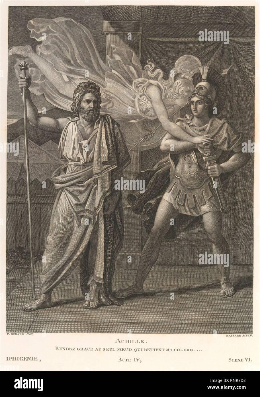 Oeuvres de Jean Racine. Author: Written by Jean Racine (French, baptized 1639-1699 Paris); Illustrator: Illustrated - Stock Image