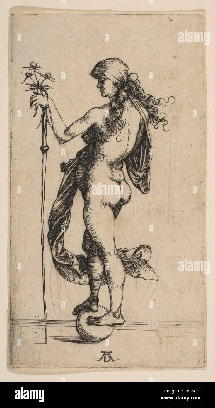 The Little Fortune. Artist: Albrecht Dürer (German, Nuremberg 1471-1528 Nuremberg); Date: 1495-96; Medium: - Stock Image