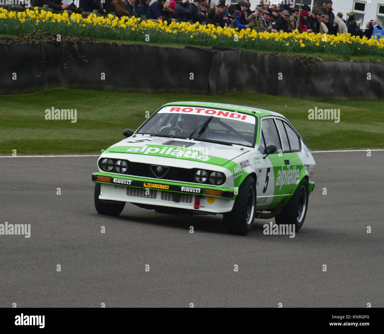 Chris Snowdon Nick Whale Alfa Romeo Gtv6 Gerry Marshall Trophy