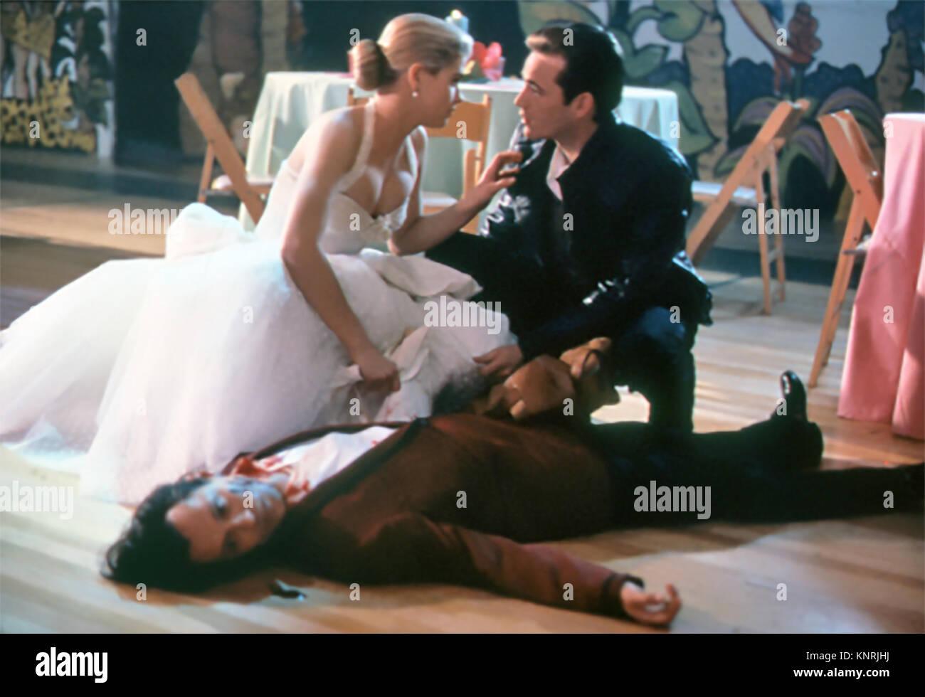 BUFFY THE VAMPIRE SLAYER 1992 Twentieth Century Fox film with Kristy Swanson and Luke Perry - Stock Image