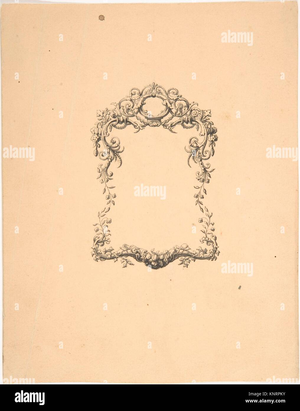 Design for Frame. Artist: Robert William Hume (British, London Stock ...