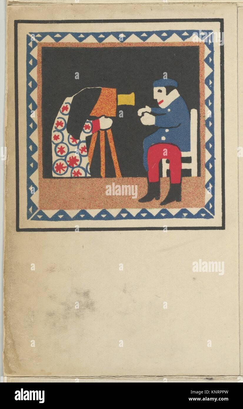 Kasperltheater. Artist: Hans Kalmsteiner (Austrian, Vienna ca. 1882/6-ca. 1914/16 Vienna); Publisher: Published - Stock Image