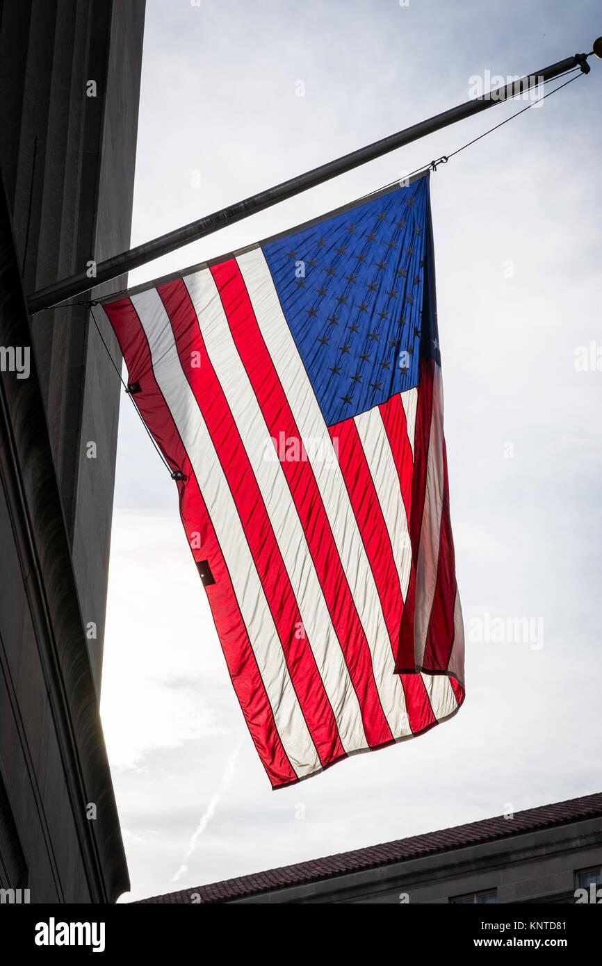 1ef6d12499d American Flag Closeup Backlit USA Patriotism Hanging Background Texture -  Stock Image