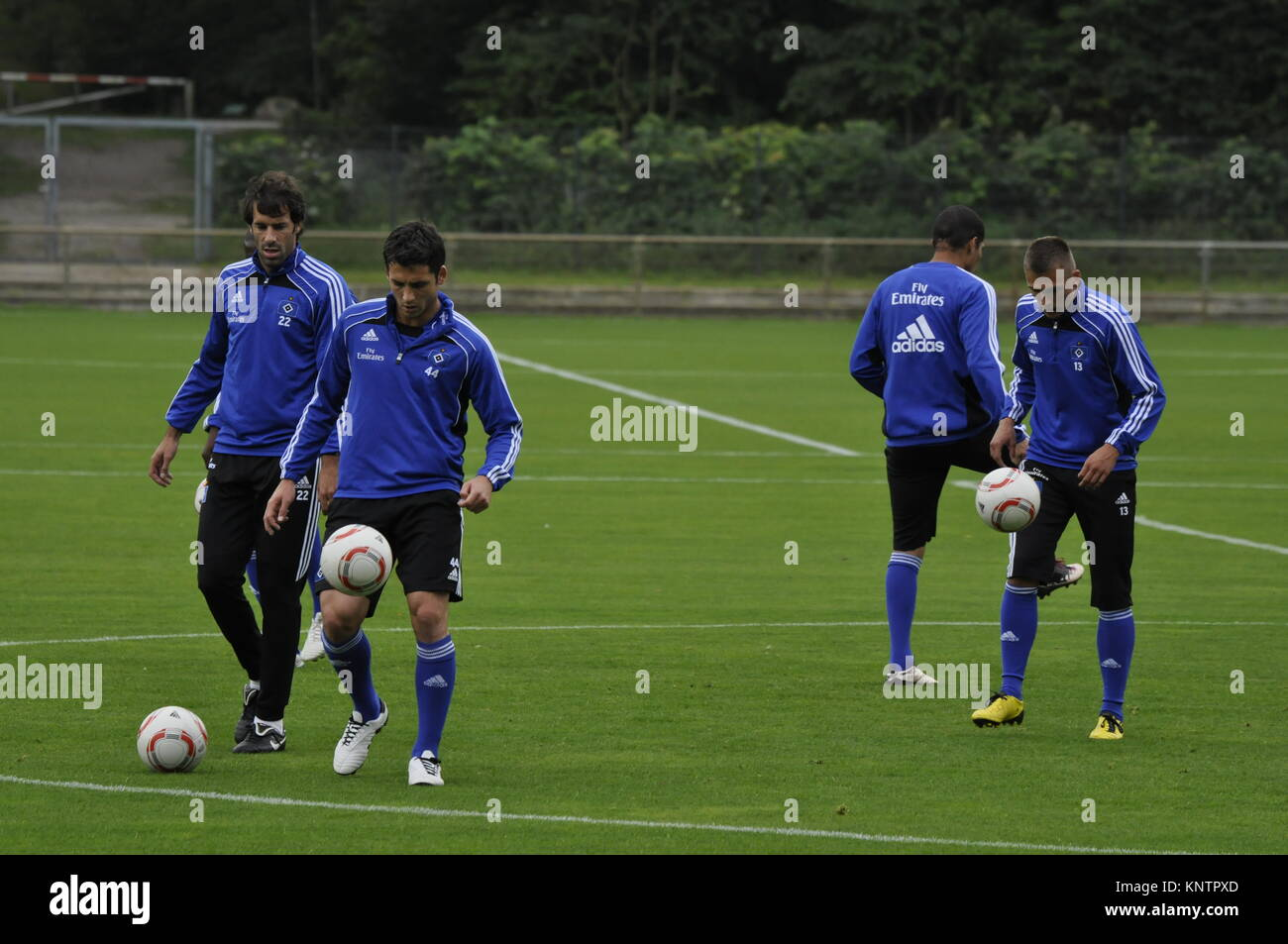 HSV Training, Hamburg, Deutschland - Stock Image