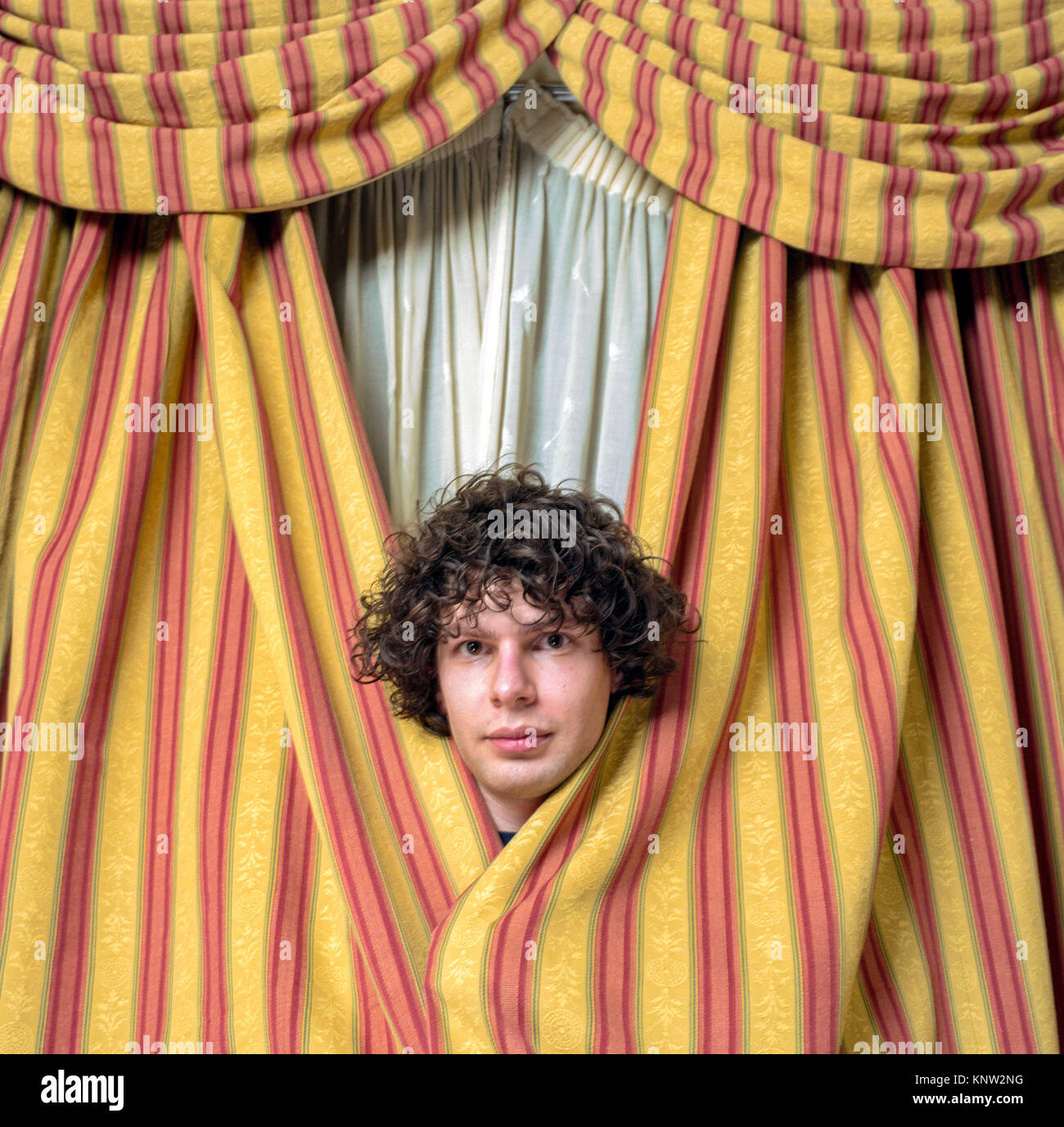 Simon Amstell, English comedian, television presenter, screenwriter, director and actor. London England, United - Stock Image
