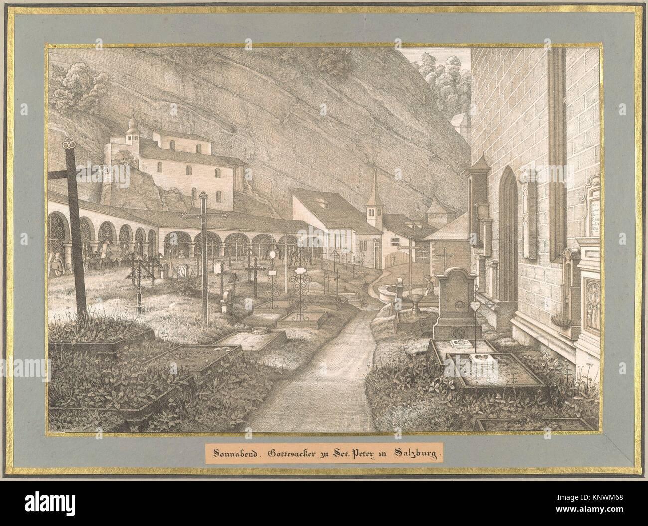 Sonnabend from Sieben Gegenden aus Salzburg und Berchtesgaden Geordnet nach den sieben Tagen der Woche, verbunden - Stock Image