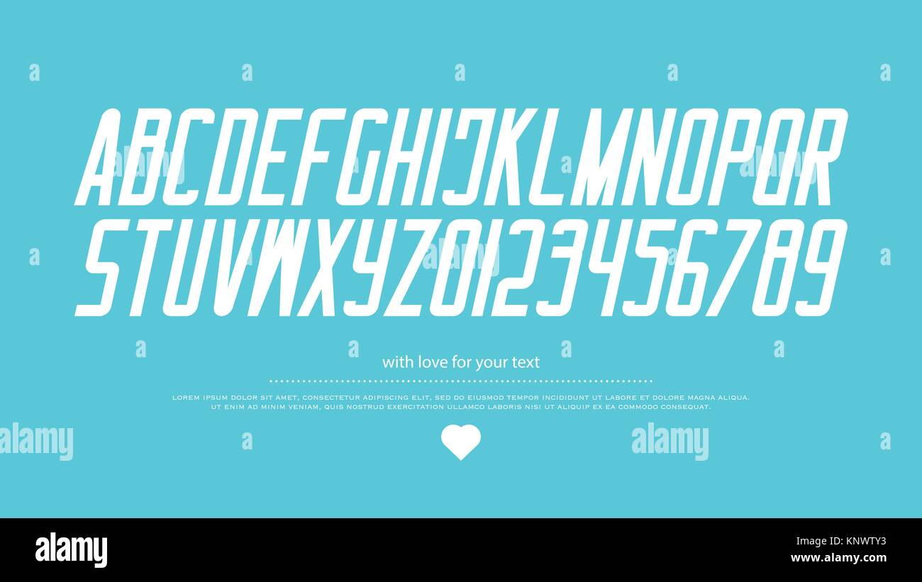 Italic Style Alphabet Letters And Numbers Vector Italics Font Type Design Slant Lettering Symbols Stylish Inclined Typesetting Bold Oblique Typ