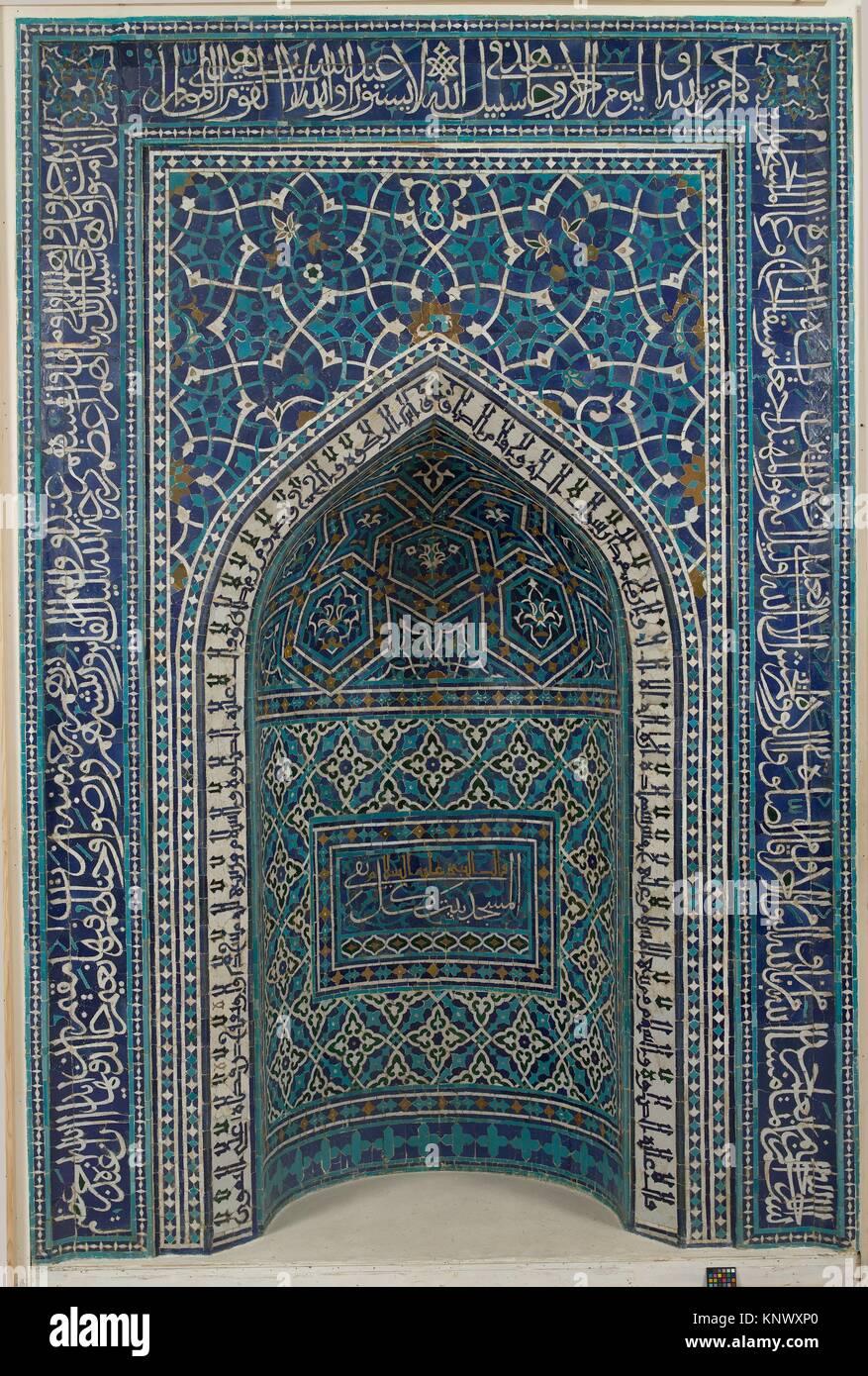 tile mosaic mihrab