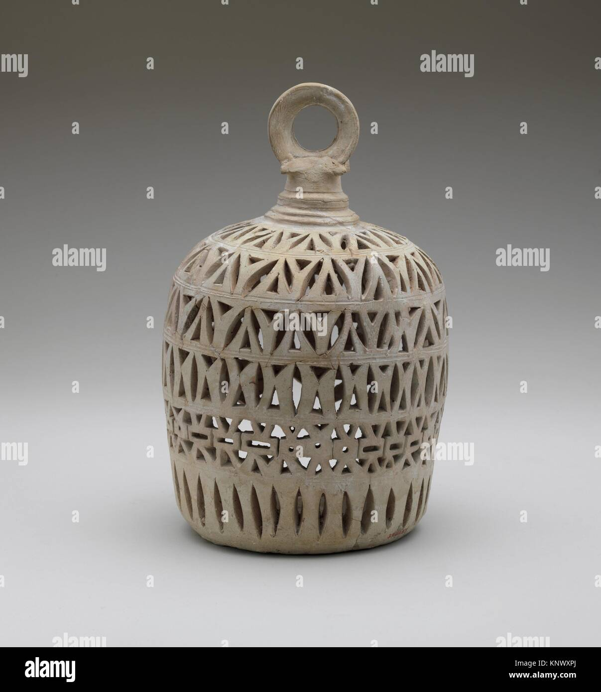Lantern for a Lamp. Object Name: Lantern; Date: 9th-10th century; Geography: Attributed to Iran, Nishapur. Excavated - Stock Image